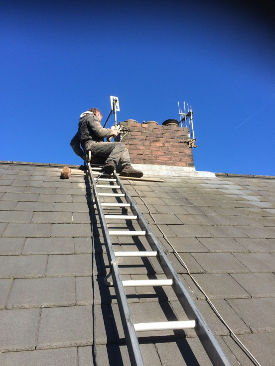 Chimney Stack Repair And Repointing In Nelson Cjb Roofing