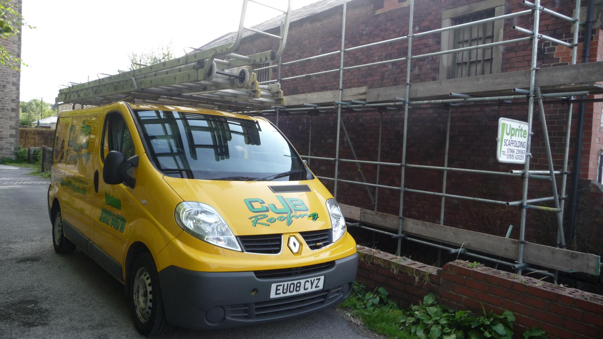 Commercial roof repair in Lancashire