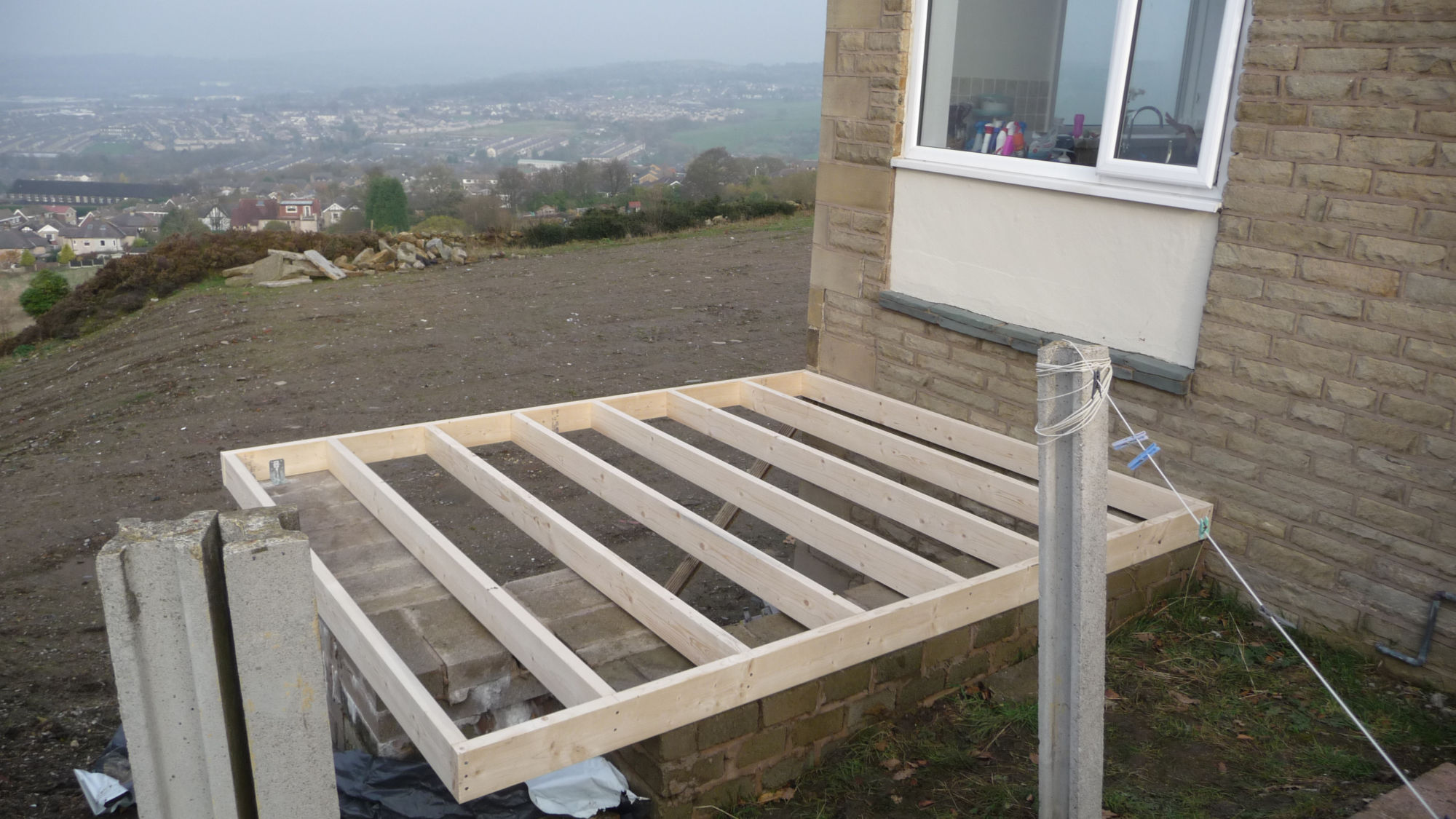 Building a new flat roof