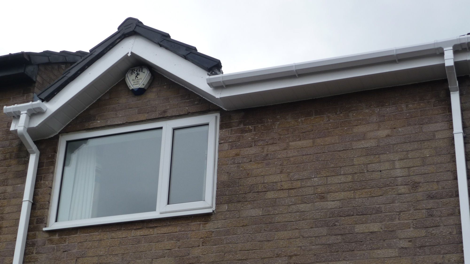 UPVC guttering, downspouts, fascias and soffits